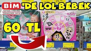 KIŞKIRTMA!! BIM Markette LOL Sürpriz Confetti POP GELMİŞ !!!!  ŞOK Fiyat Sadece 60TL