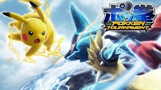 Vídeo Pokkén Tournament