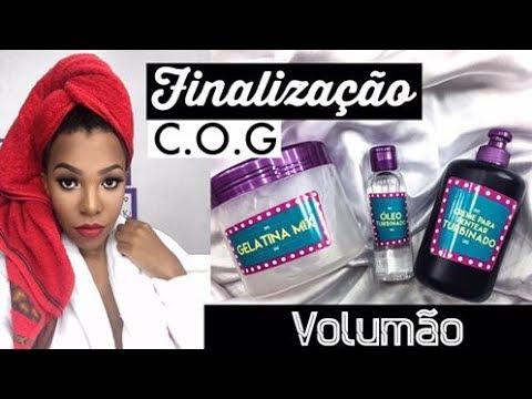 FINALIZAÇÃO COG PARA CABELOS CRESPO CACHEADO - Luany Cristina