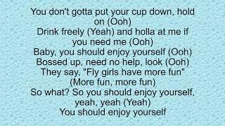 Pop Smoke - Enjoy Yourself ft. Karol G (lyrics)