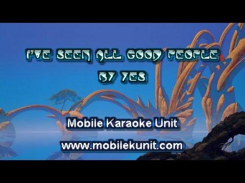Yes - I've Seen All Good People [Karaoke]