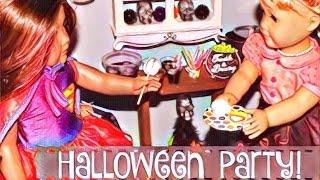 American Girl Doll Halloween Room