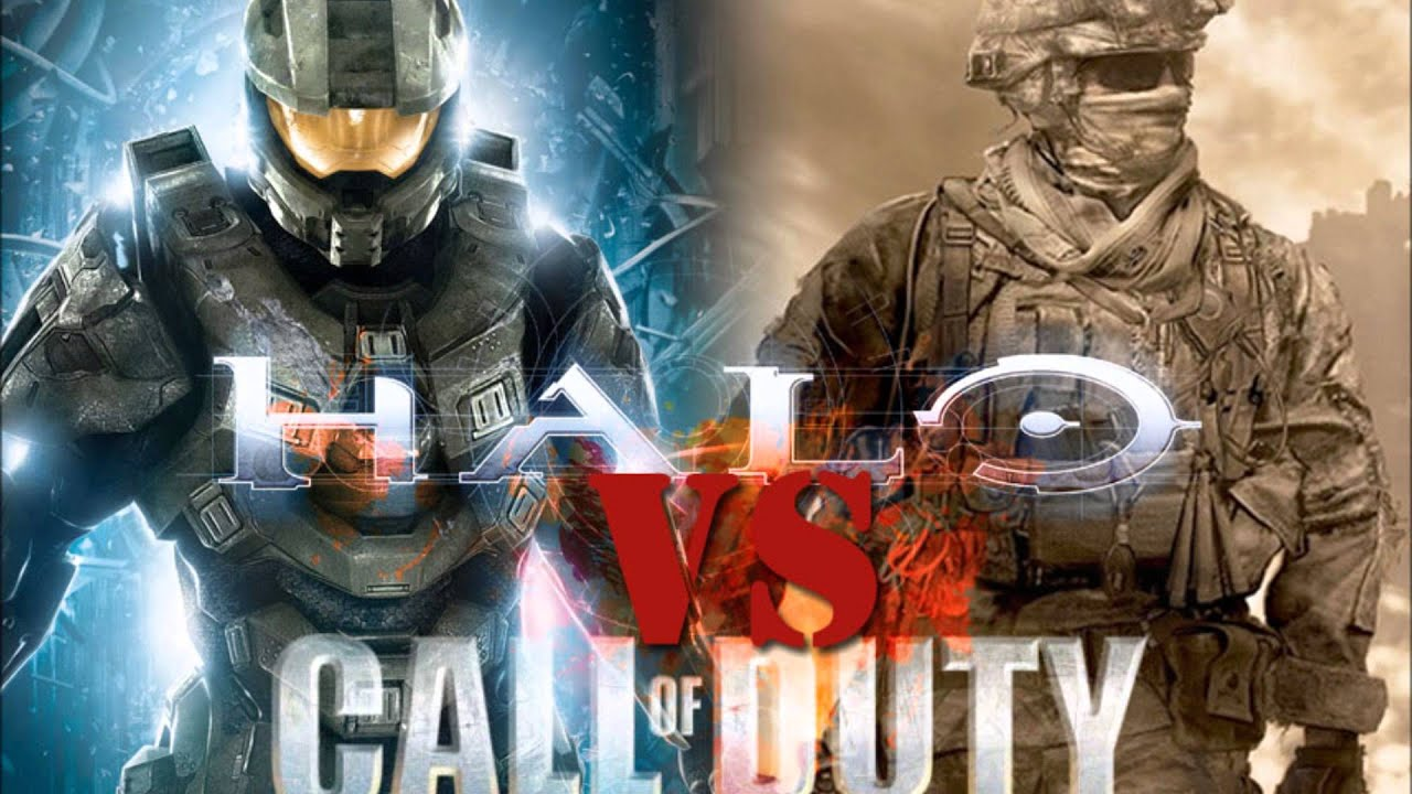 Image result for halo vs call of duty
