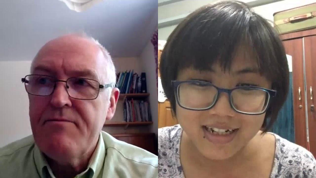 Talking with Dr. Kyaw in Mayenmar