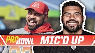 Cameron Heyward Mic'd Up at the 2018 Pro Bowl | Pittsburgh Steelers