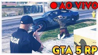 GTA 5 RP | VIDA REAL | VIDA DE POLÍCIA | LIVESTREAM