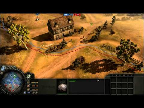 Let's Play CoH 1vs1, Langres, Amerikaner [German] [HD] - KommandoXV vs. mons456