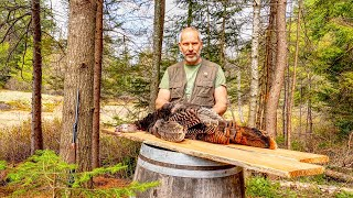 Spring Wild Turkey Hunt, Over the Fire Cast Iron Cooking