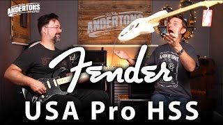 Fender USA Pro HSS Strats - Rob Gets His Fuzz On!! Video
