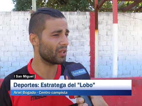 San Miguel: Deportes: Estratega del lobo, Ariel Bogado - Centrocampiata