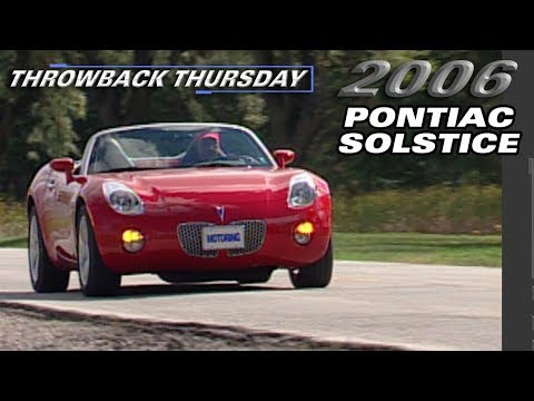 2006 Pontiac Solstice Test Drive - Throwback Thursday