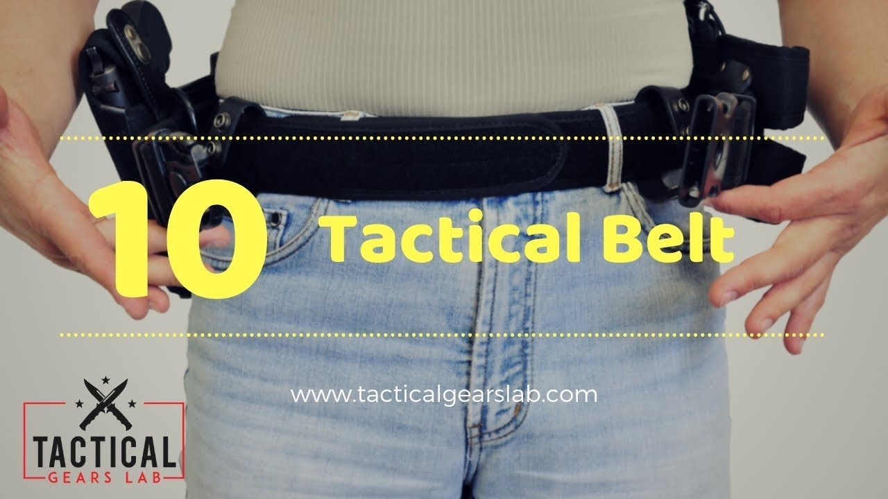 The 10 Best Tactical Belt in 2019 - Reviews with Buying Guide