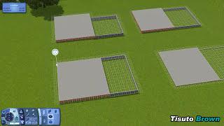 The Sims 3 Tutorials | Advanced Split Flooring - Read Description
