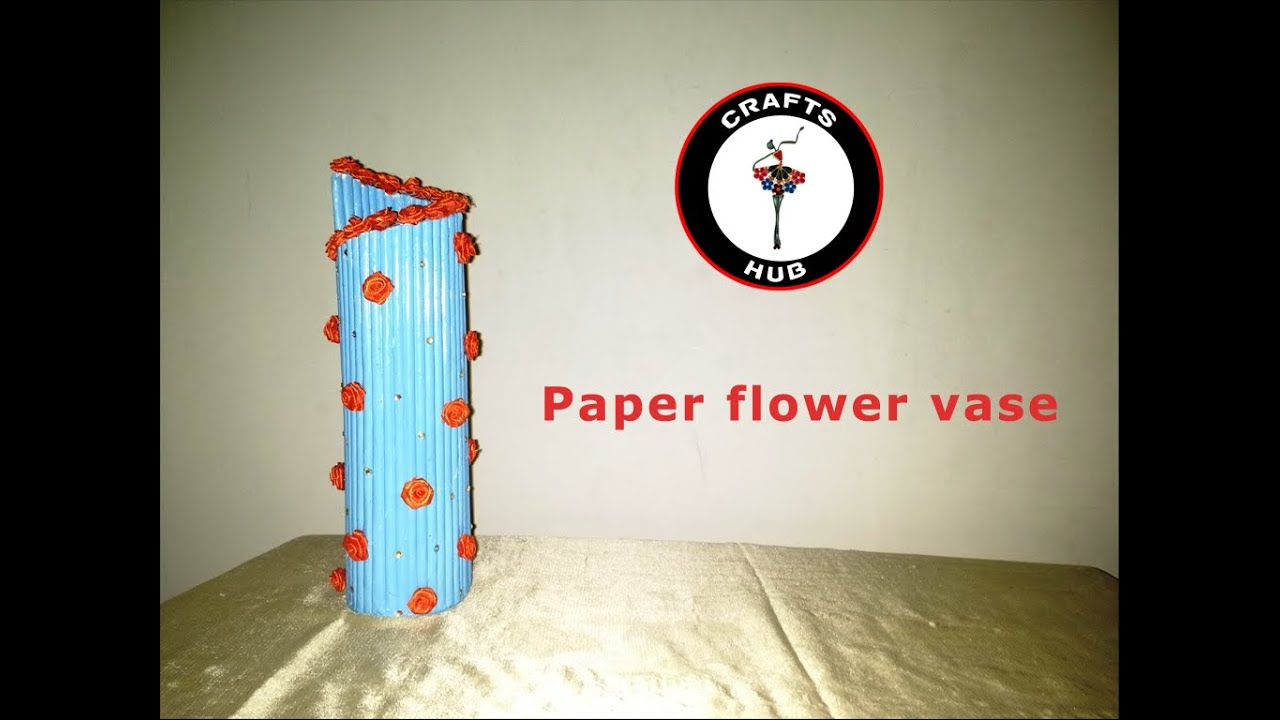How To Make A Flower Vase Out Of Paper Vaydileforic
