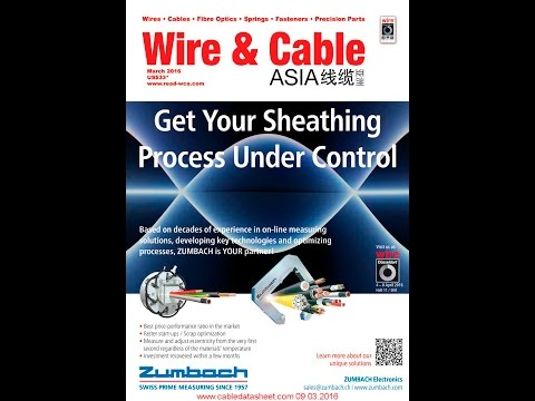 Wire & Cable Asia Magazines WCA March 2016