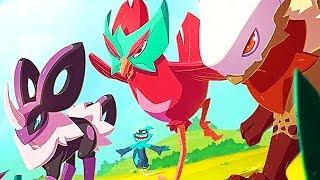 TEMTEM Gameplay Trailer (MMO Game, 2018) Pokemon Inspired