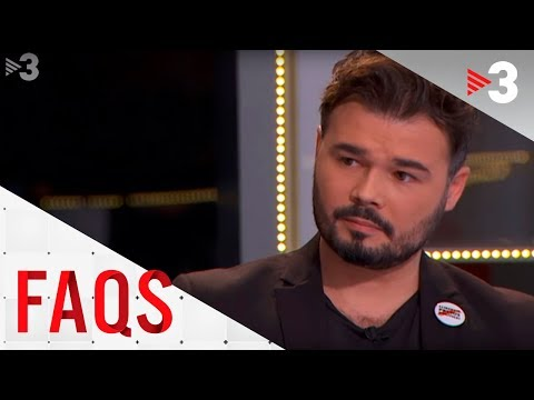 FAQS | Taula política amb Rufián, Torra, Salellas i Asens