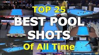 Top 25 BEST PΟOL SHOTS of All Time