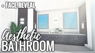 Face Reveal | ROBLOX | Welcome To Bloxburg | Aesthetic Bathroom
