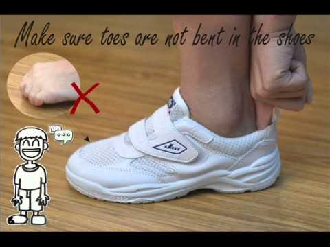 Choose The Right Shoe Size - Presented By Pallas