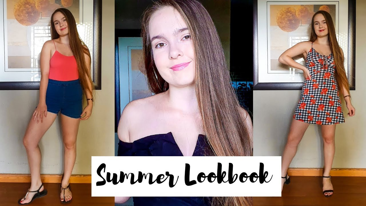 [VIDEO] - Summer Outfit Ideas//Easy and cute//Summer Lookbook 2