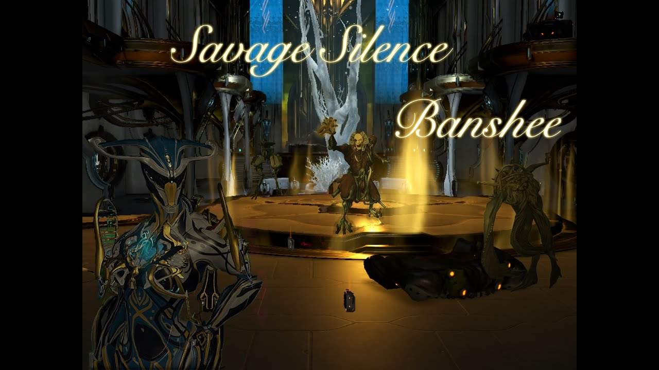 Warframe : Banshee Savage Silence - YouTube