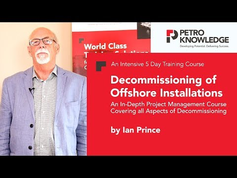 Decommissioning of Offshore Installations by Ian Prince