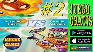 Plants vs Zombies Heroes #2 El viaje salvaje de zombidinfinito Destello Solar VS Tornillo Oxidado