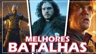 10 MAIORES BATALHAS DE GAME OF THRONES!