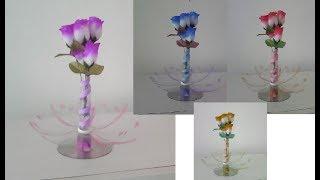 Vaso de garrafa pet fácil – Pode ser usado como lembrancinha ou decoração