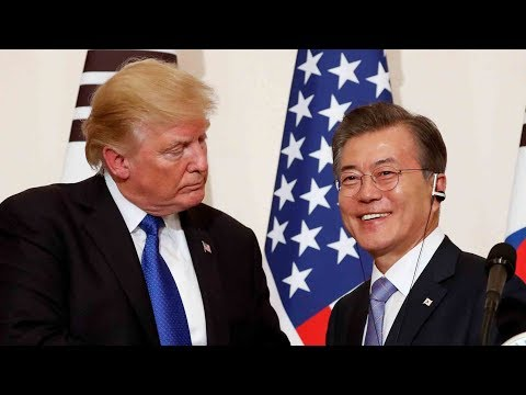 Trump and Moon to work closely on summit after Pyongyang's about face