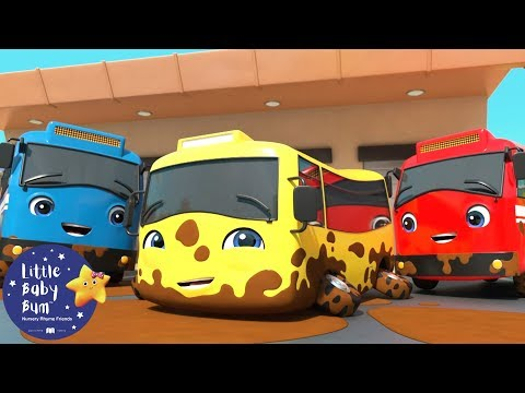 Go Buster | Carwash With Buster And Friends | BRAND NEW! | Baby Songs | Little Baby Bum