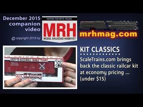 Scale trains classic kits First Look | Model railroad rolling stock | Model Railroad Hobbyist | MRH