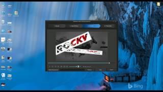 Wie erstellen Sie Diashow-Ersteller in der cyber link power director 15 Ar Rocky