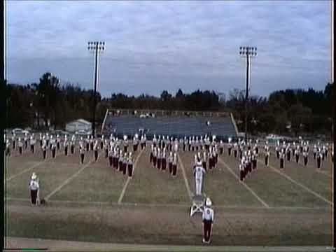 Owasso High School Marching Band at contest in Pryor, Ok 1992