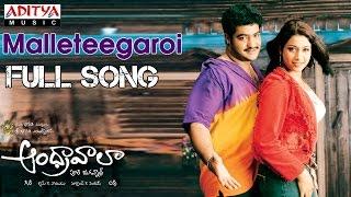 Andhrawala Telugu Movie Malleteegaroi Full Song || Jr.N.T.R, Rakshita