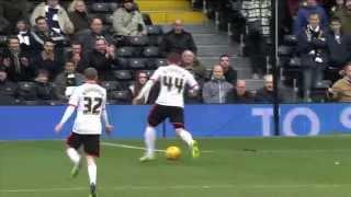 Video Gol Pertandingan Fulham vs Derby County