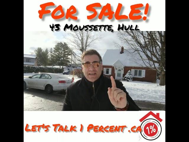 For SALE 43 moussette Hull by Michaellederman.ca