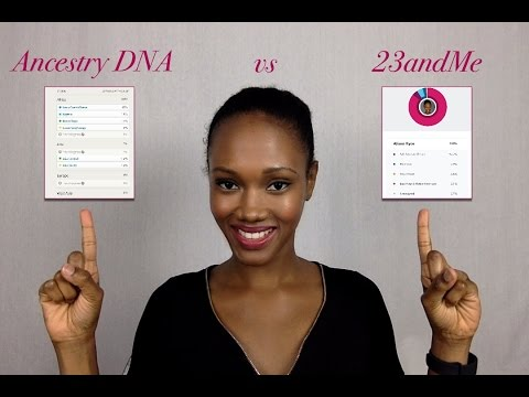 Ancestry DNA vs 23andMe: Full Comparison - YouTube