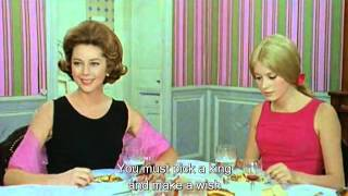 "The dinner scene from ""Parapluies de Cherbourg"" (1964)"