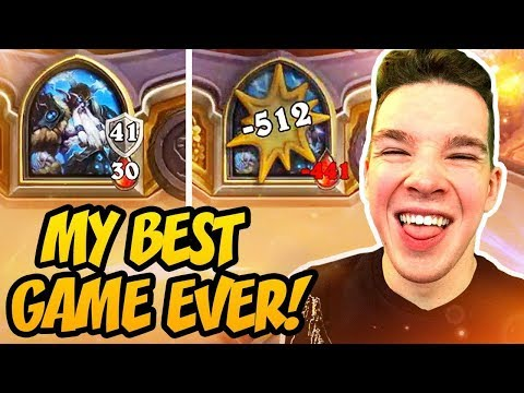 Hearthstone: My Best Game Ever!