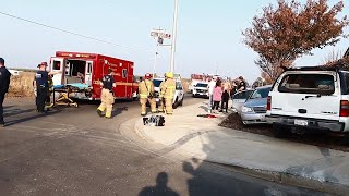 Patterson accident sends 8 to hospital