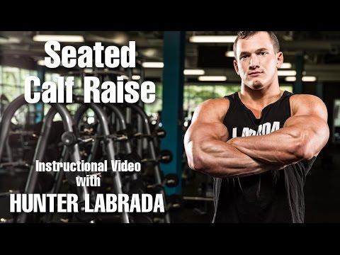 Hunter Labrada Seated Calf Raise Instructions / Tips