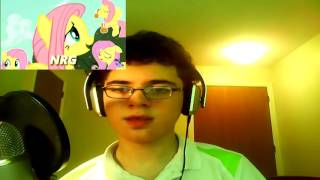 My little reaction: Pony Sauce - NRG [PonyDub] and Scary Monsters and Nice Parasprites [PonyDub]