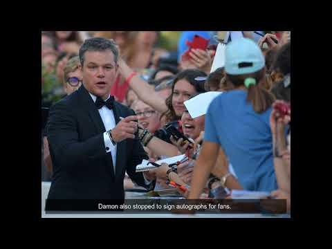 Venice Film Festival: Stars arrive in Italy in style