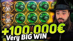 Streamer Mega win 100.000€ on Ring of odin  slot - TOP 5 Mega wins of the week