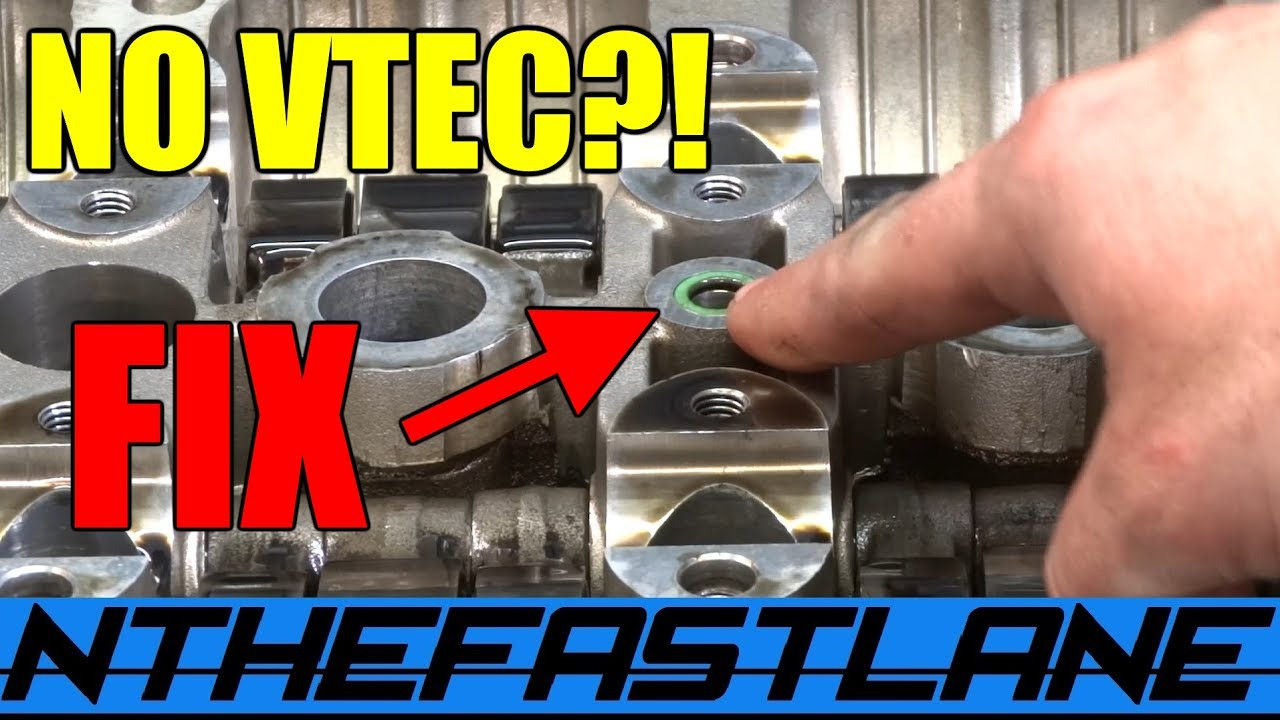 hight resolution of vtec not engaging properly this could be your fix