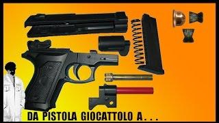 Da pistola giocattolo a pistola spara piombini Cal  4,5