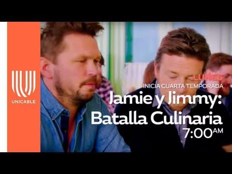 Jamie y Jimmy: Grandes recetas  1 de abril - Unicable