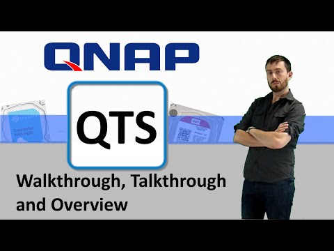 The QNAP QTS NAS Software Walkthrough, talkthrough and Overview with SPANTV